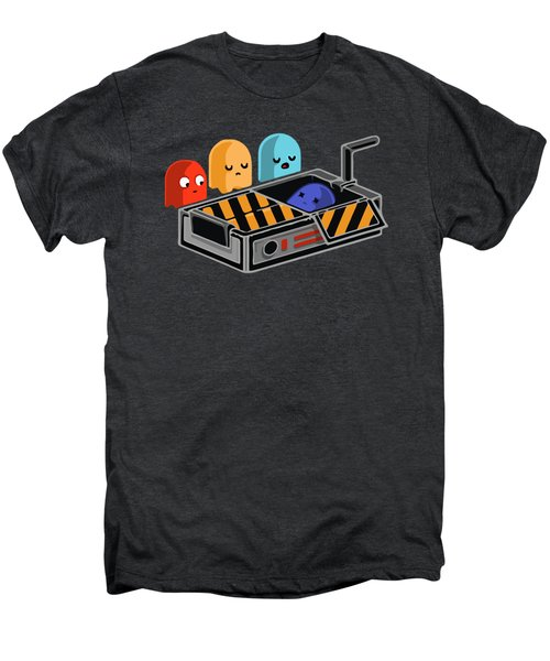 Dead Ghost Men's Premium T-Shirt by Opoble Opoble