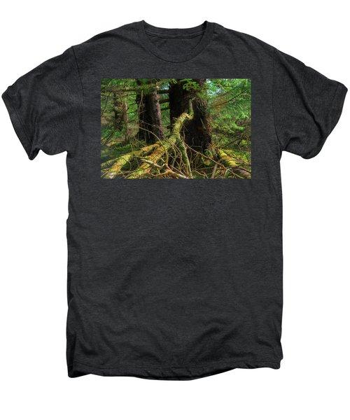 Deep In The Woods Men's Premium T-Shirt