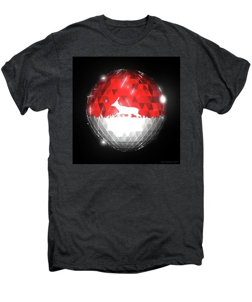 Deer Bauble - Frame 10 Men's Premium T-Shirt