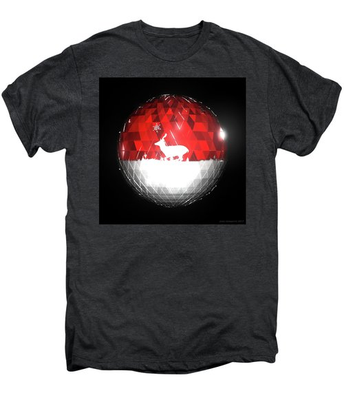 Deer Bauble - Frame 103 Men's Premium T-Shirt