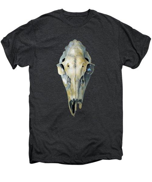 Deer Skull Aura Men's Premium T-Shirt by Catherine Twomey