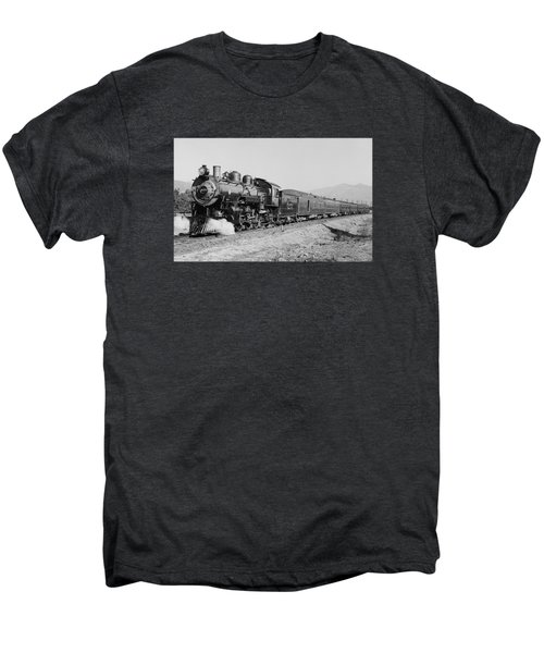 Deluxe Overland Limited Passenger Train Men's Premium T-Shirt