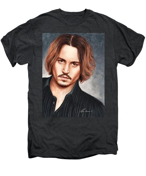 Depp Men's Premium T-Shirt by Bruce Lennon