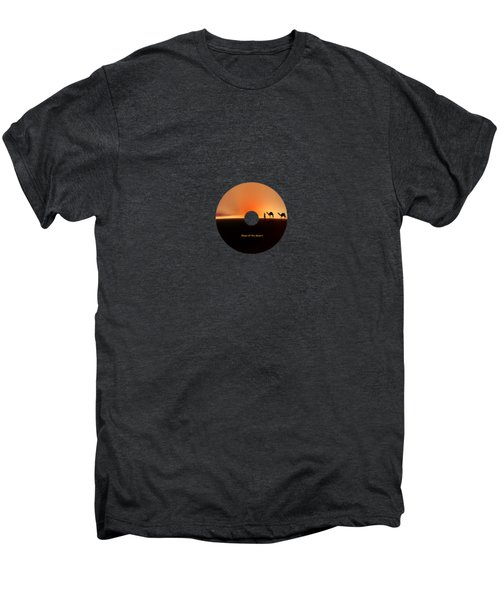 Desert Mirage Men's Premium T-Shirt by Valerie Anne Kelly