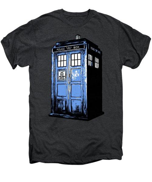 Doctor Who Tardis Men's Premium T-Shirt by Edward Fielding