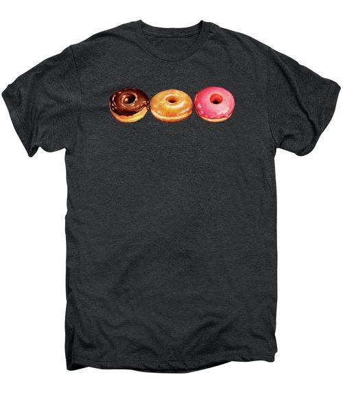 Donut Pattern Men's Premium T-Shirt