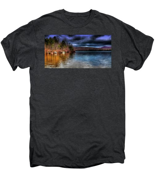 Men's Premium T-Shirt featuring the photograph Early May On Limekiln Lake by David Patterson