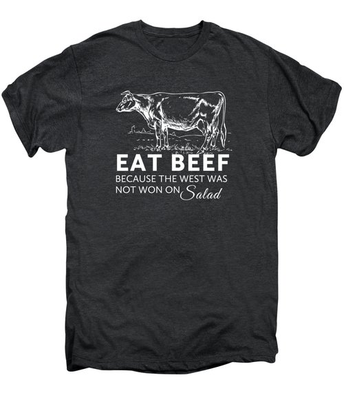 Eat Beef Men's Premium T-Shirt