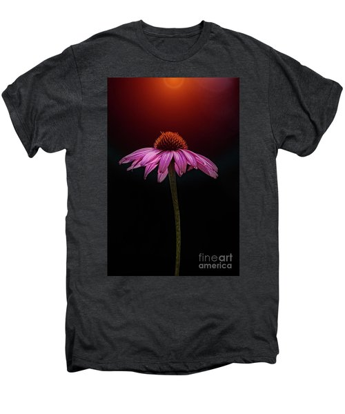 Echinacea And Sun Men's Premium T-Shirt