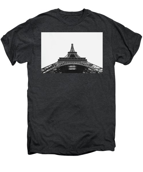 Men's Premium T-Shirt featuring the photograph Eiffel Tower Perspective  by MGL Meiklejohn Graphics Licensing