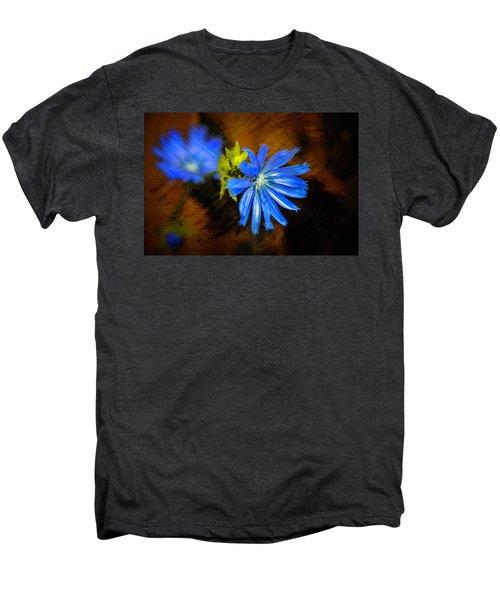 Electric Blue Men's Premium T-Shirt
