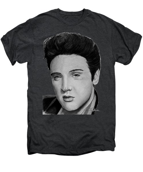 Elvis A Presley Men's Premium T-Shirt