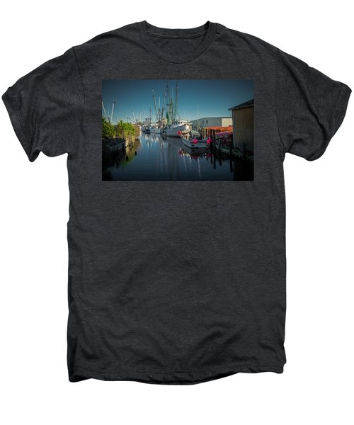 Englehardt,nc Fishing Town Men's Premium T-Shirt