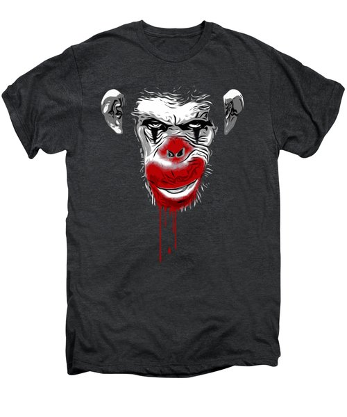 Evil Monkey Clown Men's Premium T-Shirt by Nicklas Gustafsson