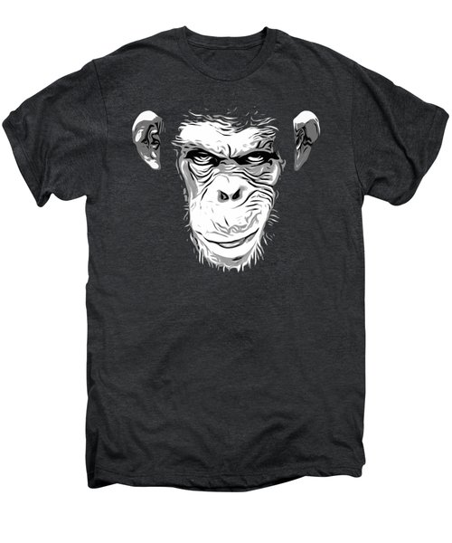 Evil Monkey Men's Premium T-Shirt by Nicklas Gustafsson