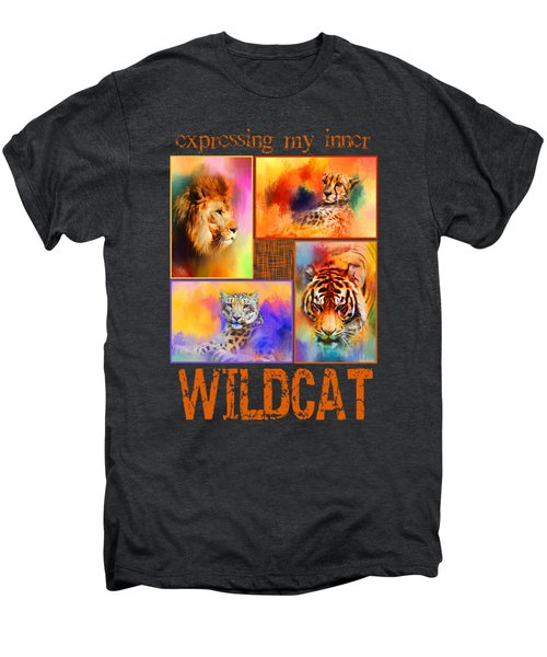 Expressing My Inner Wildcat Men's Premium T-Shirt