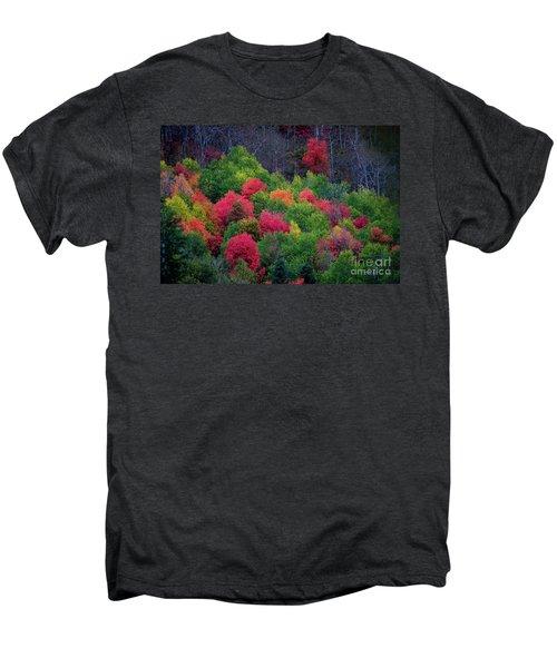 Fall Poppers Men's Premium T-Shirt