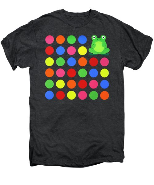 Discofrog Remix Men's Premium T-Shirt by Oliver Johnston