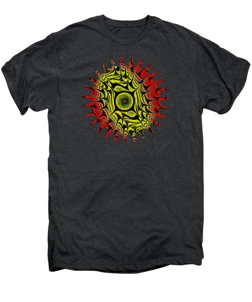 Fire Dragon Eye Men's Premium T-Shirt by Anastasiya Malakhova
