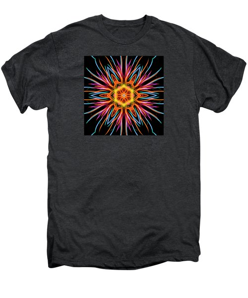 Fireworks Mandala #1 Men's Premium T-Shirt