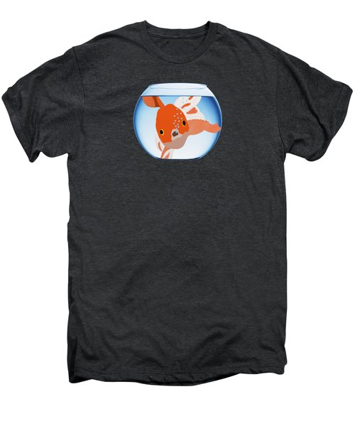 Fishbowl Men's Premium T-Shirt by Priscilla Wolfe