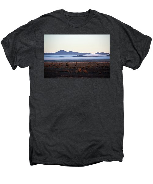 Fog In The Peloncillo Mountains Men's Premium T-Shirt