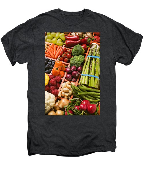 Food Compartments  Men's Premium T-Shirt by Garry Gay