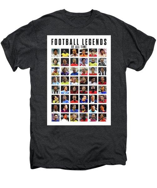Football Legends Men's Premium T-Shirt by Semih Yurdabak