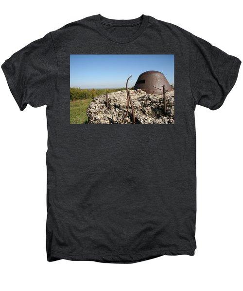 Men's Premium T-Shirt featuring the photograph Fort De Douaumont - Verdun by Travel Pics