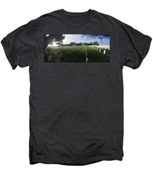 Fort Rosecrans National Cemetery Men's Premium T-Shirt by Lynn Geoffroy