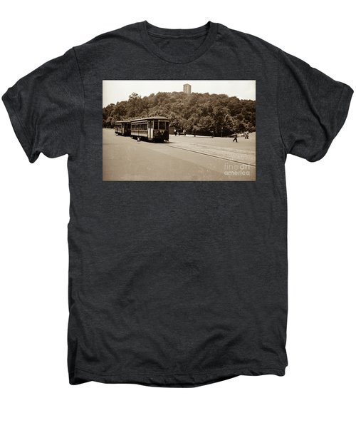 Fort Tryon Trolley Men's Premium T-Shirt