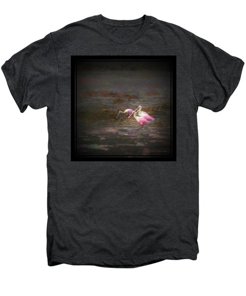 Four Spoons On The Marsh Men's Premium T-Shirt by Marvin Spates