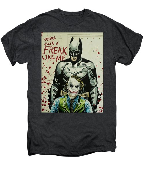 Freak Like Me Men's Premium T-Shirt by James Holko