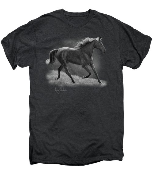 Free - Black And White Men's Premium T-Shirt