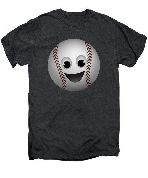 Fun Baseball Character Men's Premium T-Shirt