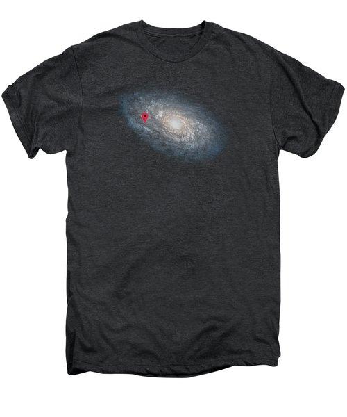 Funny Astronomy Universe  Nerd Geek Humor Men's Premium T-Shirt