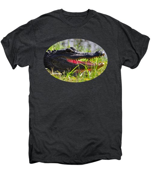 Gator Grin .png Men's Premium T-Shirt by Al Powell Photography USA