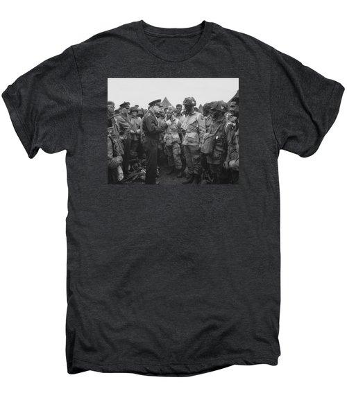 General Eisenhower On D-day  Men's Premium T-Shirt