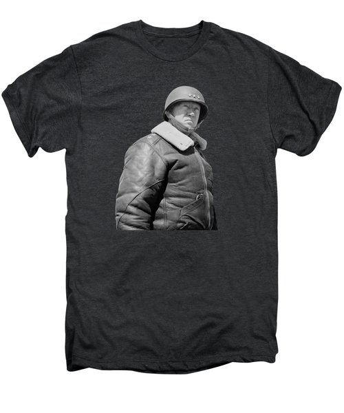 General George S. Patton Men's Premium T-Shirt by War Is Hell Store
