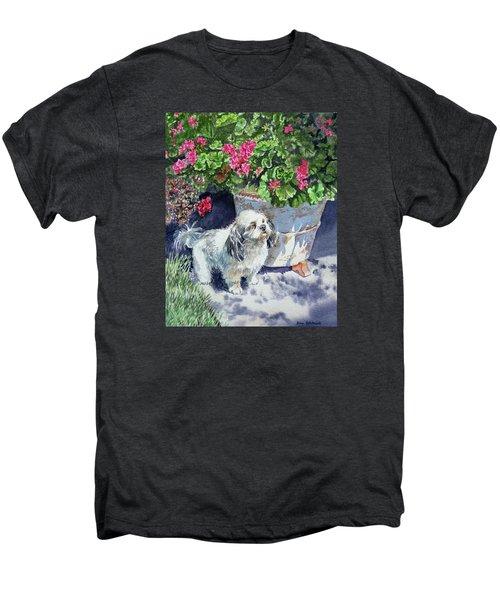 Georgie Men's Premium T-Shirt by Irina Sztukowski