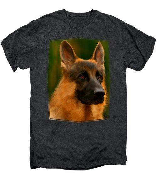 German Shepherd Men's Premium T-Shirt