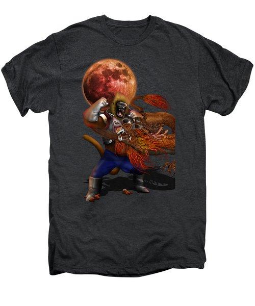 Giant Monkey Vs Shen Long Men's Premium T-Shirt