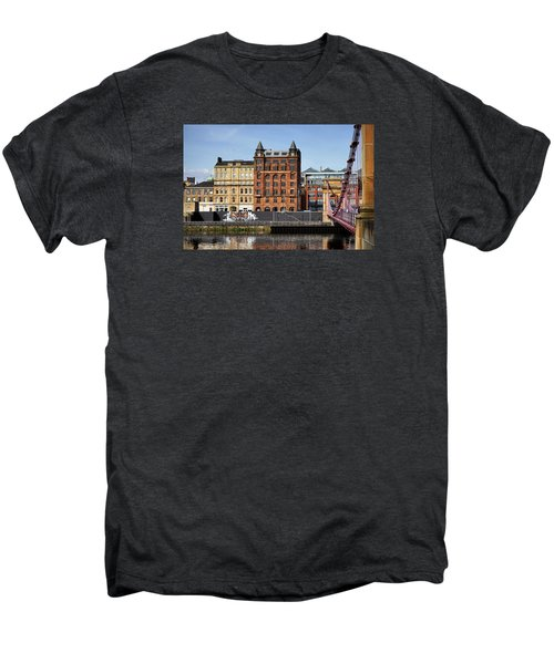 Men's Premium T-Shirt featuring the photograph Glasgow by Jeremy Lavender Photography