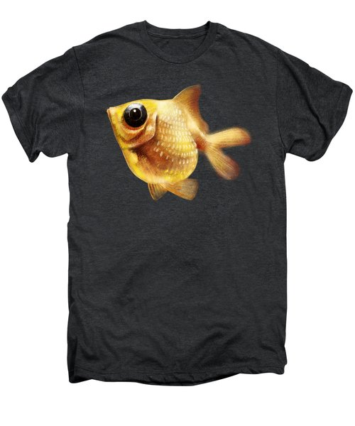 Goldfish Men's Premium T-Shirt by Abdul Jamil