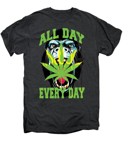 Gorilla Warfare  Men's Premium T-Shirt by John D'Amelio