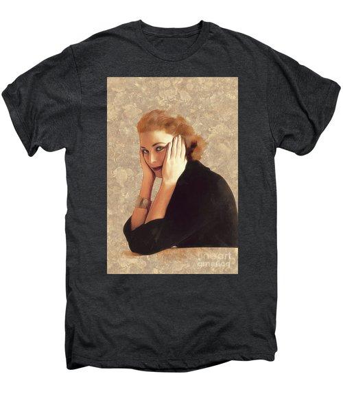 Grace Kelly, Hollywood Legend Men's Premium T-Shirt