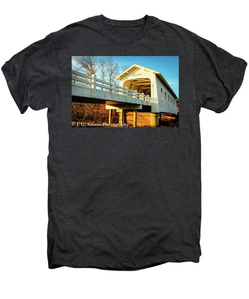 Grave Creek Covered Bridge Men's Premium T-Shirt