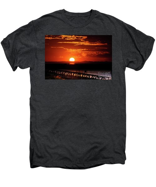 Great Salt Lake Sunset Men's Premium T-Shirt