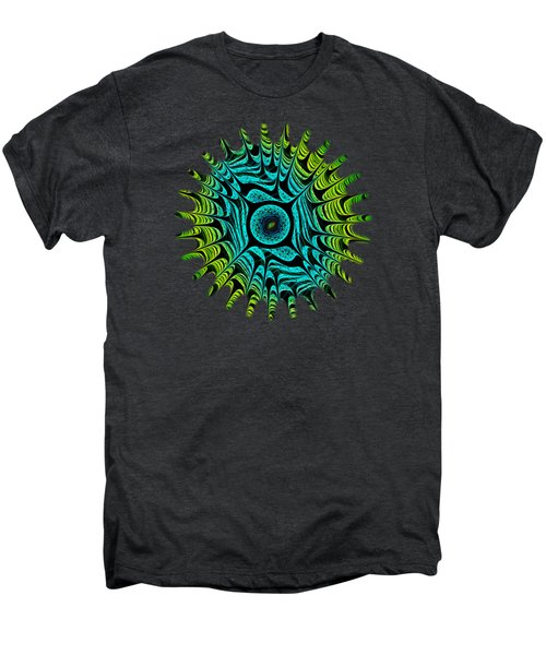 Green Dragon Eye Men's Premium T-Shirt by Anastasiya Malakhova