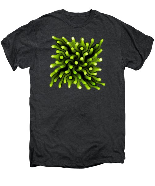 Green Sea Anemone Men's Premium T-Shirt by Anastasiya Malakhova